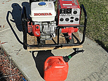 Should I store a generator with or without gas? » Home