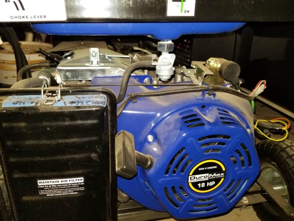 generator to power well pump during power outage