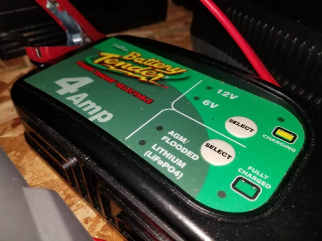 4 amp charger for car batteries